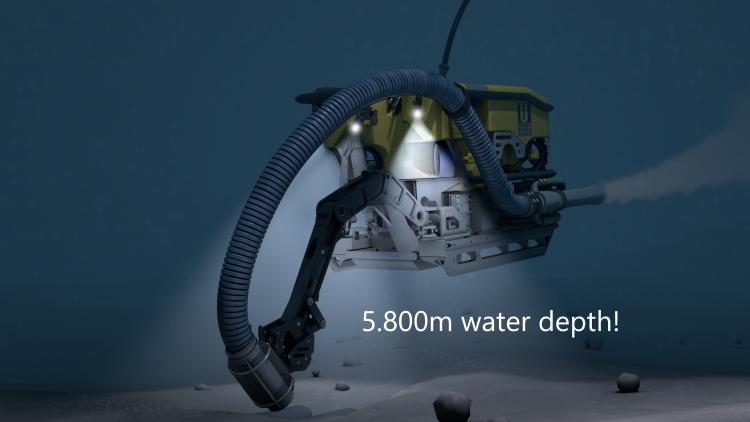 Technology Advancement: Deep Water ROV Dredge