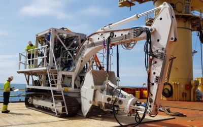Rock installation to optimize positioning of a drilling rig